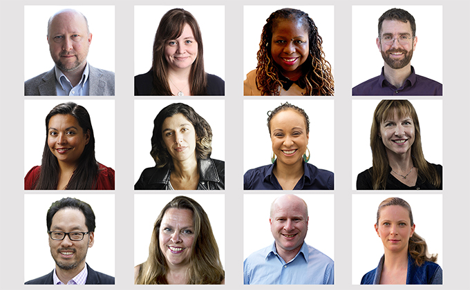 The 2016-17 U.S. John S. Knight Journalism Fellows