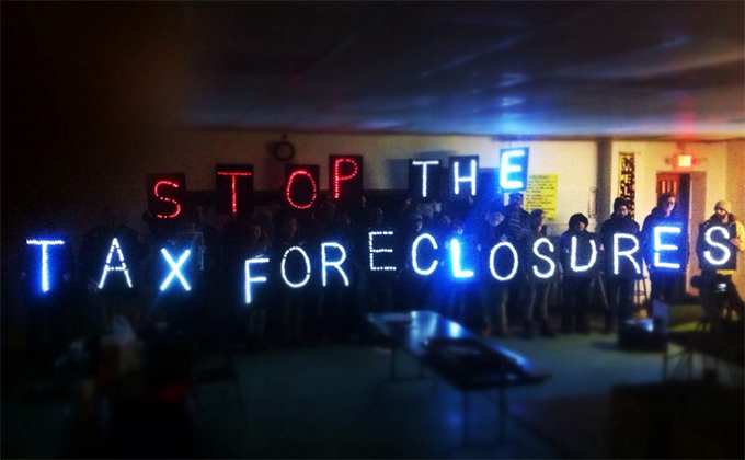 Stop the Tax Foreclosures