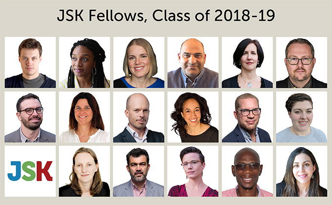 JSK Fellows, Class of 2018-19