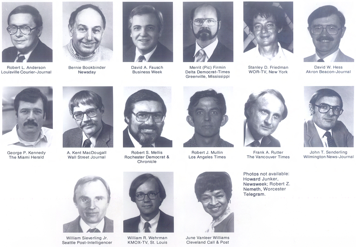 JSK Fellows, Class of 1970