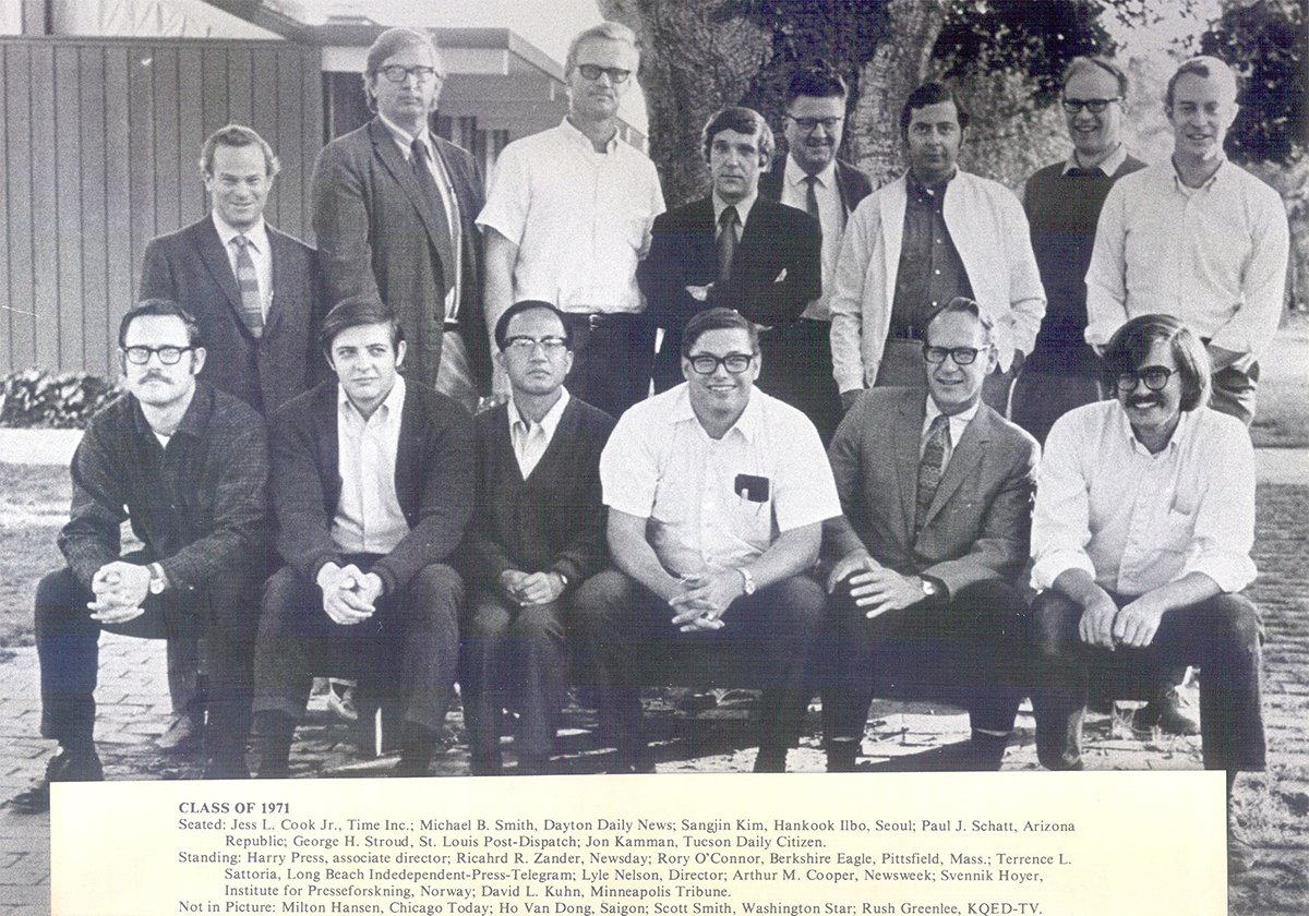 JSK Fellows, Class of 1971